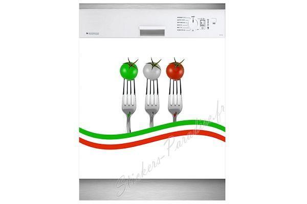 Adesivo per lavastoviglie Italia di Stickersparadise