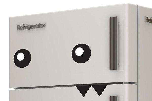 Adesivo per frigo Mostro di Tenstickers