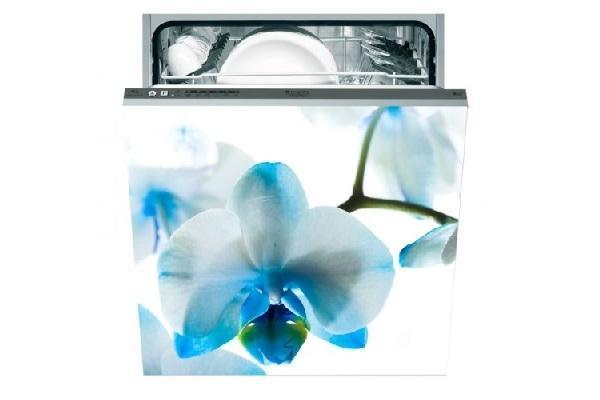 Adesivo per lavastoviglie Fiori celesti di Stampasututto