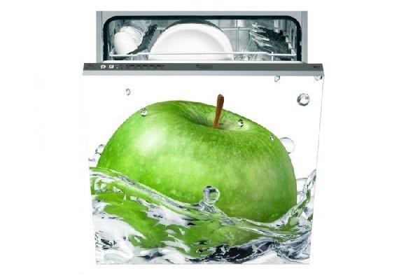 Adesivo per lavastoviglie Mela verde di Stampasututto