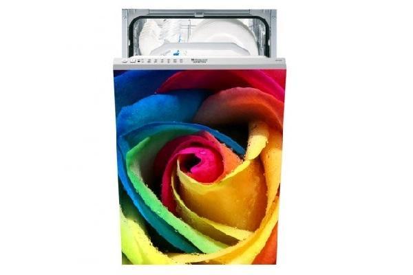Adesivo per lavastoviglie Rosa di Stampasututto