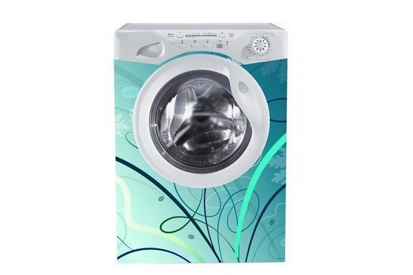 Adesivo per lavatrice Blue di Stampasututto