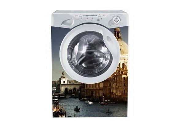 Adesivo per lavatrice Venezia di Stampasututto