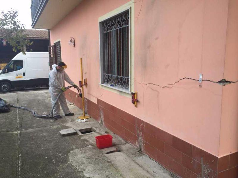 Crepe nel muro e cedimenti differenziali come risolvere il problema