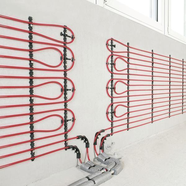 Rehau sistema a parete a umido
