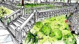 Dividere gli spazi del giardino con aiuole e bordure in pietra