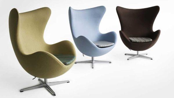 Poltrone girevoli comode e funzionali - Poltrone design famose ...