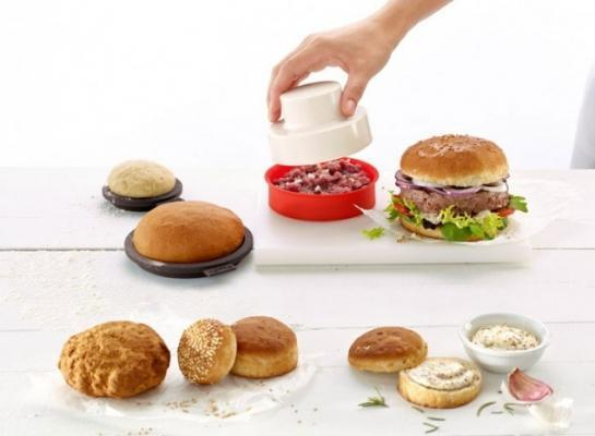 Kit per preparare pane e hamburger di Lekue
