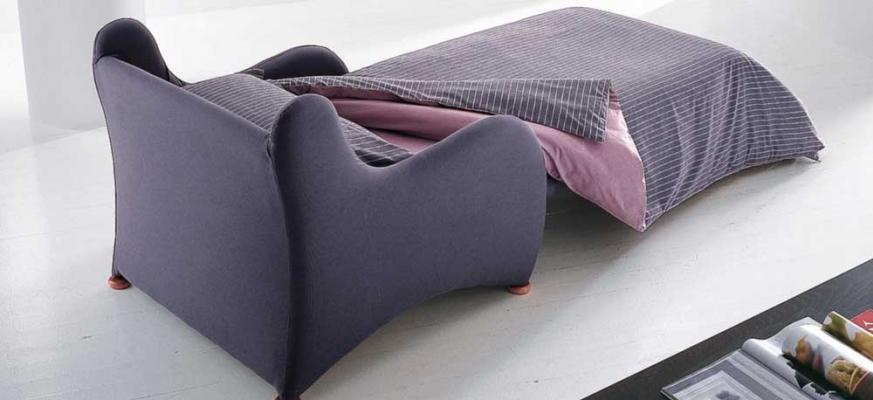 Poltrona letto BONALDO versatile e funzionale