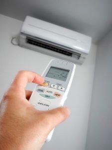 Climatizzare l'aria