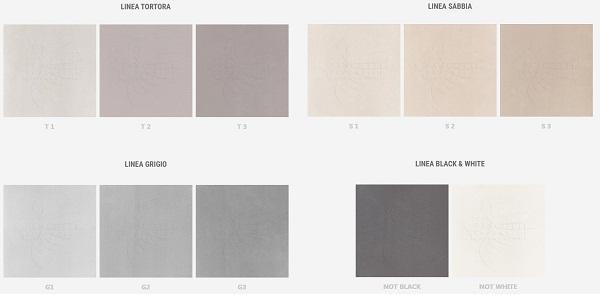 Pavimento microcemento, colori superfici continue a marchio Ecomateria® di Pancotti Superfici.