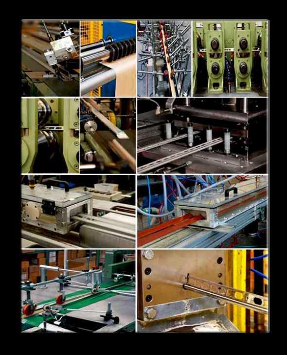 Fasi del processo produttivo dell'azienda Profilpas S.p.A