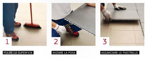 Pavimenti con posa a secco: Cooperativa Ceramica d'Imola, Clip Tile
