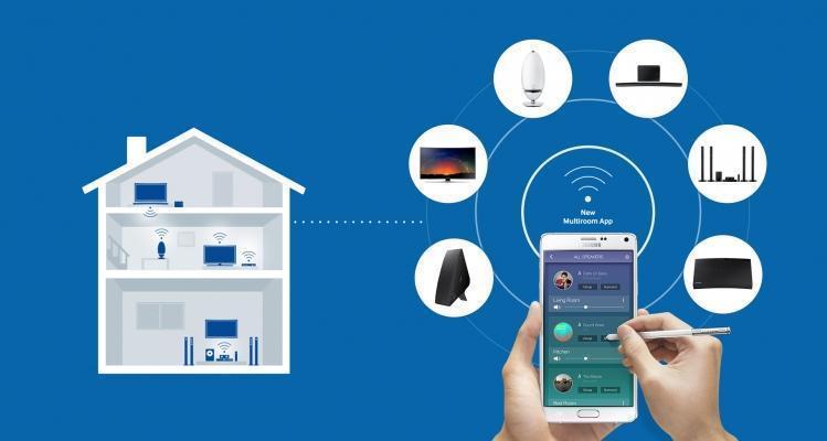 App Multiroom di Samsung