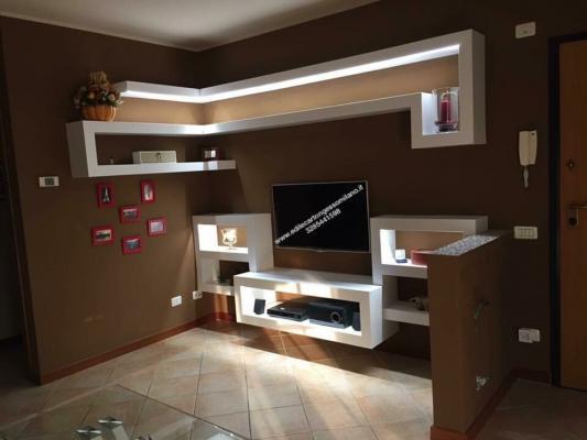 Come realizzare correttamente controsoffitti - Pareti porta tv in cartongesso ...