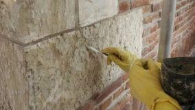 Danni alle murature da leganti incompatibili