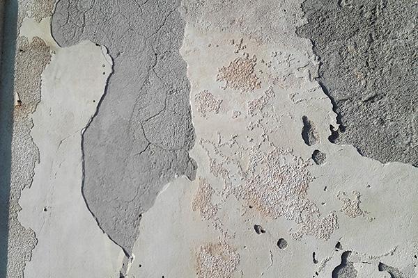 Danni derivanti dall'impiego di malte cementizie