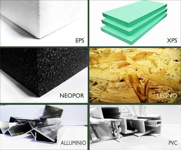Materiali adottati nei cassonetti per avvolgibile INCOVAR