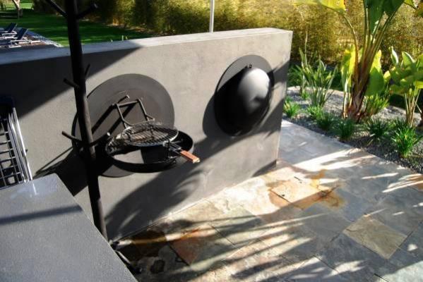 Coppia di barbecue da parete Sigmafocus