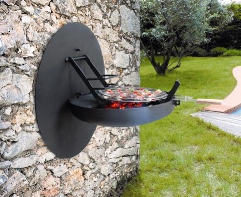 Spazio esterno con barbecue da muro Sigmafocus