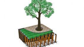 Come contenere le radici con cupole e teli antiradice