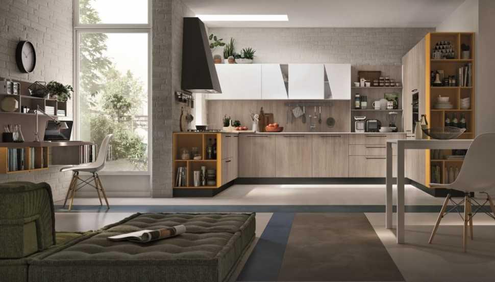 Cucina angolare Stosa modello Infinity
