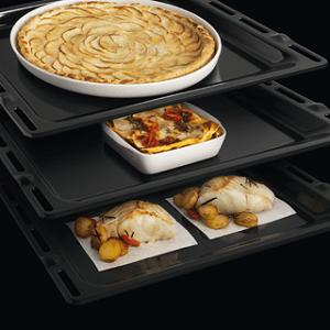 Alimenti cotti in forno pirolitico Whirlpool