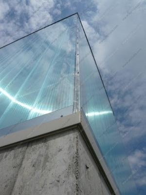 Pannelli in policarbonato trasparenti di SEP