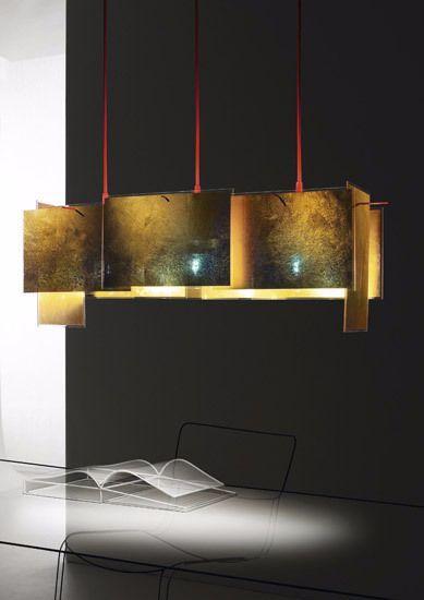 Lampada in metallo ampliambile di Ingo Maurer