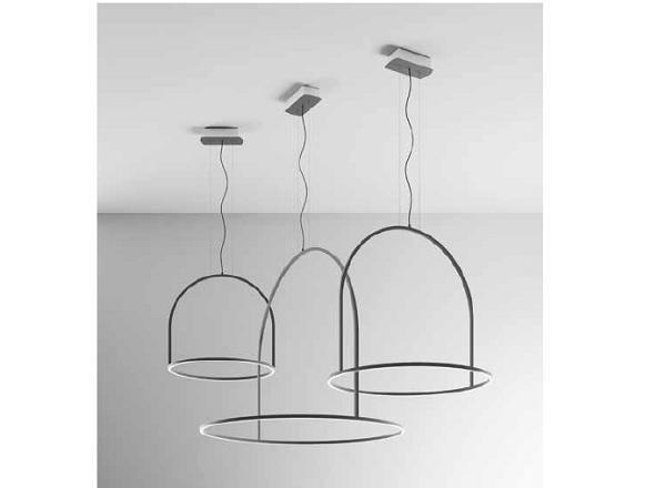 Lampada in allumino stilizzata di Axo Light