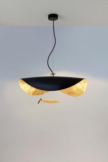 Lampada in metallo Lederam di Catellani & Smith