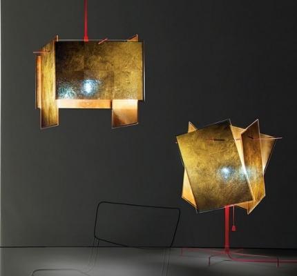 Lampade di metallo: dettaglio composizione