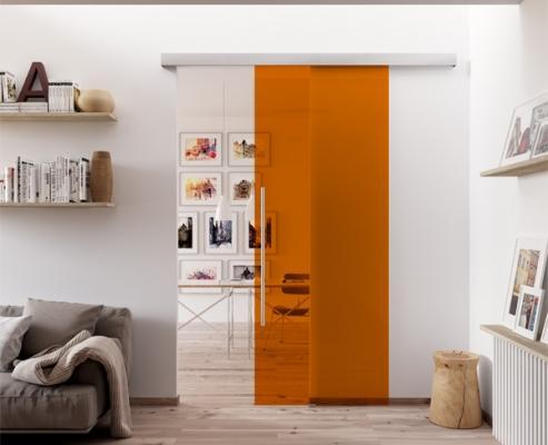 Porta in vetro laccata di MR art design