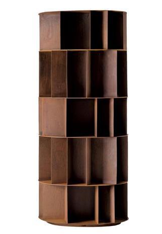 Libreria effetto bronzo di De Castelli