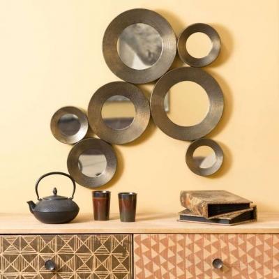 Specchio effetto bronzo Maisons du Monde