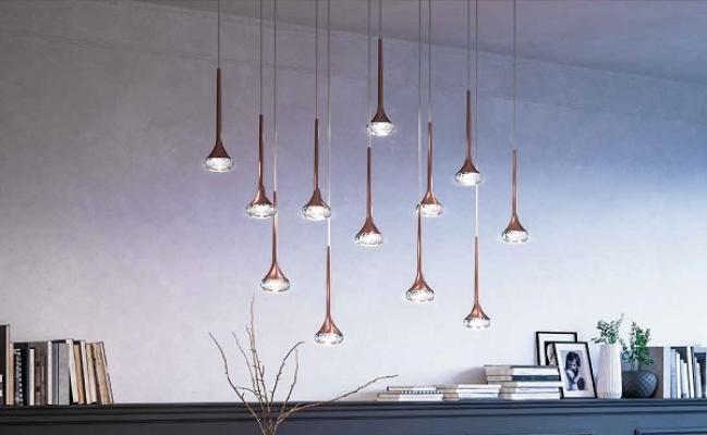 Lampade in bronzo sospese di Axo Light
