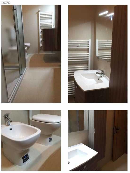 Ristrutturazione completa del bagno con bagni italiani for Ristrutturazione bagno detrazione