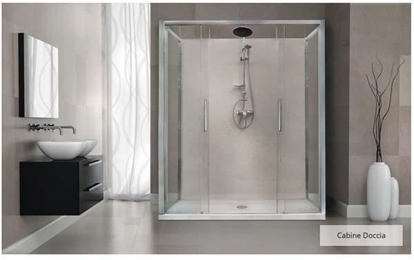 Bagni Italiani: sostituzione della vasca da bagno con cabina doccia
