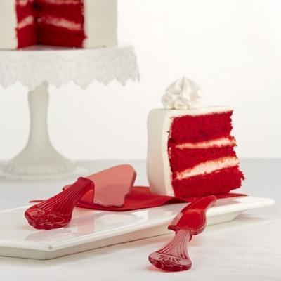 Coltello per torta in plastica di Pavonidea.com