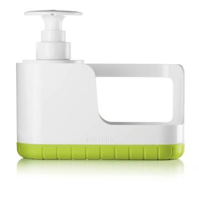 Organizzatore per area lavello con dosasapone Tidy&Clean di Guzzini