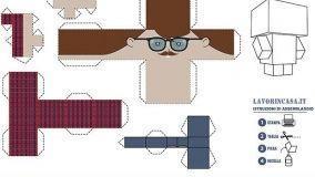 Papercraft: modelli e consigli