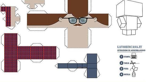 Creare oggetti divertenti e decorativi con il Papercraft