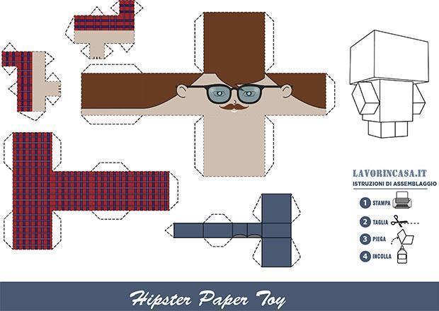 Papercraft sog. 2