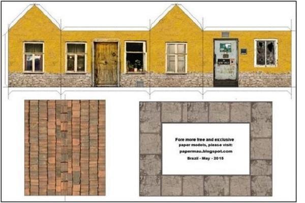 Papercraft modelli e consigli for Modo semplice per costruire una casa