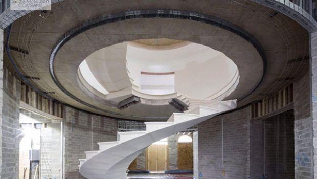 Come sono realizzate le scale autoportanti in pietra per interni