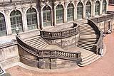 Scala in pietra  di grande valenza architettonica