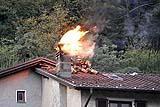 canna fumaria in fibrocemento incendiata