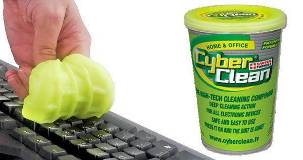 CyberClean per la pulizia delle tastiere