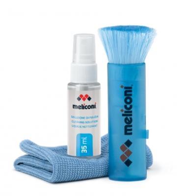 Kit soluzione e pennello per pulizia pc e tastiere di Meliconi