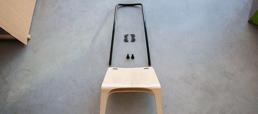 Split Chair di Alexandra Frey